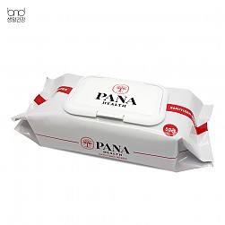 [PANA health] sanitizer wipes (50ct)